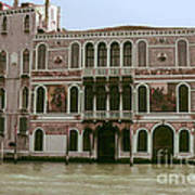 Canal Architecture Art Print