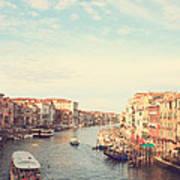 Canal Grande In Venezia Art Print