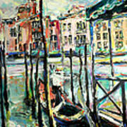 Canale Grande 2 Art Print