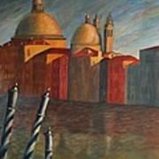 Canale Grande Venice Art Print