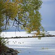 Canandaigua Lake Outlet Art Print