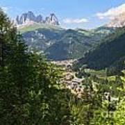 Canazei - Val Di Fassa Art Print