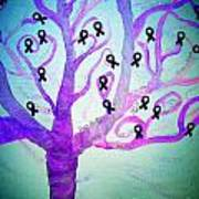 Cancer Survivors' Tree Art Print