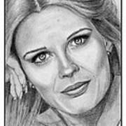 Candace Bergen In 1976 Art Print by J McCombie