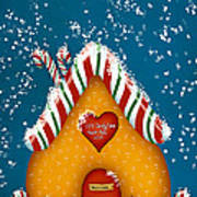 Candy Lane Art Print by Brenda Bryant