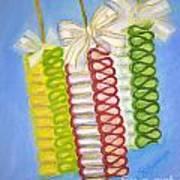 Candy Ribbon  Art Print