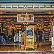 Candy Shop Main Street Disneyland 01 Art Print