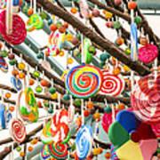 Candy Tree Art Print
