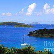 Caneel Bay In St. John In The U. S. Virgin Islands Art Print