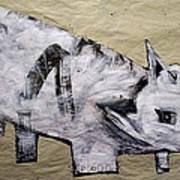 Canis Et Sidera Art Print