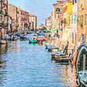 Cannareggio Canal Venice Art Print