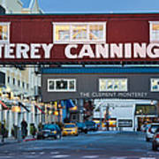 Cannery Row Area At Dawn, Monterey Art Print