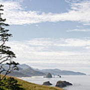 Cannon Beach At Ecola State Park Art Print
