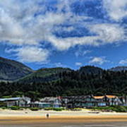 Cannon Beach South Art Print