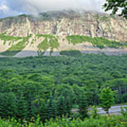 Cannon Cliff - Franconia Notch State Park New Hampshire Usa  Art Print