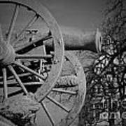 Cannon Fire Of Washington Art Print