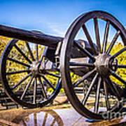 Cannon In New Orleans Washington Artillery Park Art Print