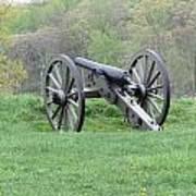 Cannon On Culp's Hill Art Print