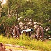 Cannon On Culps Hill Art Print