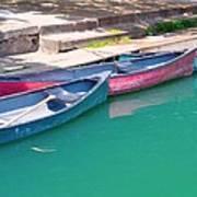 Canoes 3 Art Print