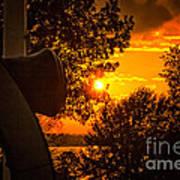 Canon Sunset Art Print