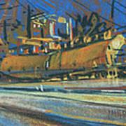 Canton Tracks Art Print by Donald Maier