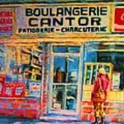 Cantors Bakery Art Print