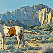 Canyon Country Paints Art Print by Paul Krapf