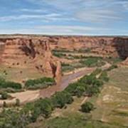 Canyon De Chelly Overview Art Print