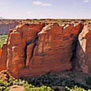 Canyon De Chelly - View From Sliding House Overlook Art Print by Christine Till
