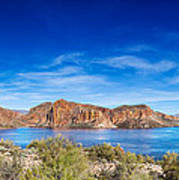 Canyon Lake Panorama Art Print