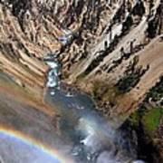 Canyon Rainbow Art Print