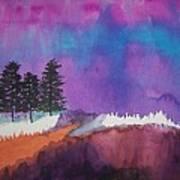 Canyon Shadows Art Print