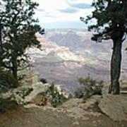 Canyon Side View Art Print