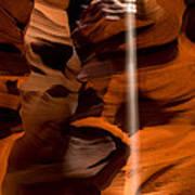 Canyon Sunbeam 1 Print by Domenik Studer