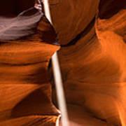 Canyon Sunbeam 2 Art Print by Domenik Studer