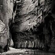 Canyon Trail 3 Art Print
