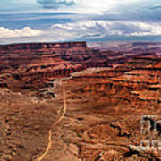 Canyonland Art Print by Robert Bales