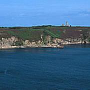 Cap Frehel Peninsula In Cotes-darmor Art Print