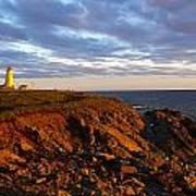 Cape Anguille Lighthouse Art Print