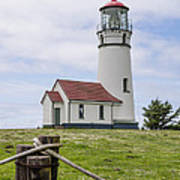 Cape Blanco Lighthouse Art Print