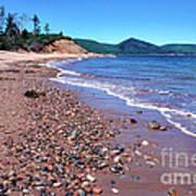 Cape Breton Island Aspy Bay Art Print