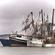 Cape Cod Fishing Boats Art Print