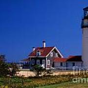 Cape Cod Or Highland Lighthouse Art Print