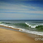 Cape Cod Waves Art Print