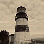 Cape Disappointment Lighthouse 2 Art Print