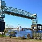 Cape Fear Draw Bridge  Art Print