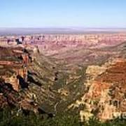 Cape Final Canyon View Art Print