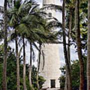 Cape Florida Historic Lighthouse Art Print