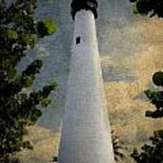 Cape Florida Lighthouse 1 Art Print